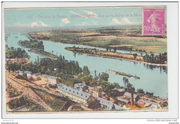 Carte De Bonsecours  ( Colorisée )( Recto Verso ) - Bonsecours