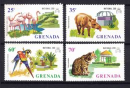 Grenada 1973 Animals Zoo Mi#508-511 Mint Hinged - Grenada (1974-...)