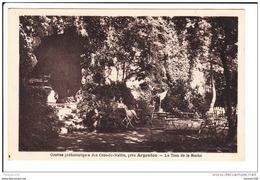 Carte Des Grottes Préhistoriques Des Cros De Malfro Près D' Argenton Le Trou De La Roche  ( Recto Verso ) - Frankreich