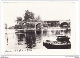 Carte ( Format 14,4 X 10,5 Cm ) De Pont Sur Yonne ( Attention Recoupée Sur Un Bord )( Recto Verso ) - Pont Sur Yonne