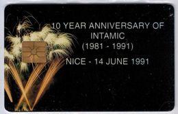10 Year Anniversary Of INTAMIC (Nice 14 Juin 1991) - Voir Scans - Ausstellungskarten