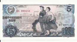 COREE DU NORD 5 WON 1978 UNC P 19 A - Corée Du Nord