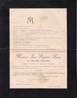 TAMINES Mélanie LEROY Née BERNARD, épouse Jean-Baptiste LEROY 73 Ans 1904 Familles BRIZON STERLIN POTOINE - Obituary Notices