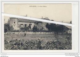 ## PEU COURANTE ## Carte De Saint Hélène  Le Château   ( Recto Verso ) - Non Classés