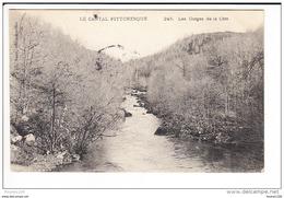 Carte Les Gorges De La Cère  ( Le Cantal Pittoresque )( Recto Verso ) - Non Classés