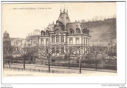 Carte D'  Ivry La Bataille  L' Hôtel De Ville ( Recto Verso ) - Ivry-la-Bataille