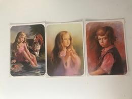 Lot De 3 Cartes Postales Anciennes Portrait D'enfant - Portraits