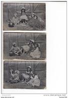 Lot Série Non Complète  De 3 Cartes  Enfants  La Goguette à La Ferme  ( Alcoolisme ) ( Recto Verso ) - Collections, Lots & Séries