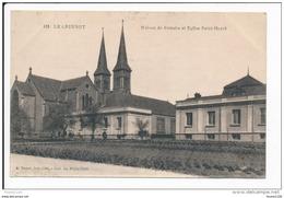 Carte  LE CREUSOT  Maison De Retraite  ( Recto Verso ) - Le Creusot