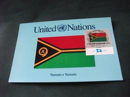Maximum UNITED NATIONS  FLAG BANDIERA VANUATU VANUATU - Vanuatu