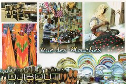 DJIBOUTI - Rue Des Mouches - Multivues - Djibouti