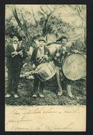 Postal Antigo De Costumes: COIMBRA O Gaiteiro - Aldeias. Edição Da PAPELARIA BORGES. Old Postcard Portugal 1900s - Coimbra