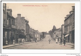 Carte  De TORIGNI SUR VIRE Rue Havin ( Peu Courante )   ( Recto Verso ) - France