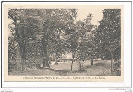 Carte De SAINT CLOUD  Maison Monestier 6 Place Deville  Le Jardin  ( Recto Verso ) - Saint Cloud