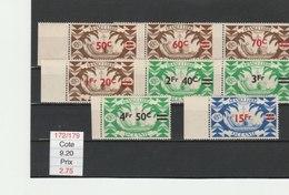 OCEANIE**LUXE N° 172/179 COTE 9.20 - Océanie (Établissement De L') (1892-1958)