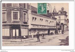 Carte De MONTFORT SUR RISLE  Hôtel Fleury Chobeaux  ( Recto Verso ) - Francia