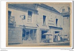 Carte De LAVAL Rue De Bretagne Restaurant Des Routiers à La Bonne Auberge  ( Peu Courante )  ( Recto Verso ) - Laval
