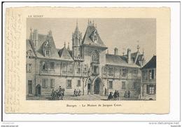 Carte De BOURGES  La Maison Jacques Coeur Le Berry ( édition Artistique Supra Paris )   ( Recto Verso ) - Bourges