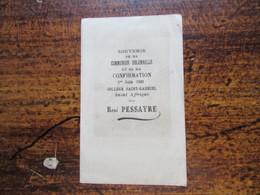 St Affrique Aveyron Souvenir De Ma Confirmation 1931 - Images Religieuses