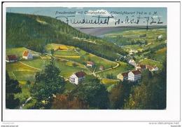 Freudenstadt Mit Christophstal   ( Recto Verso ) - Freudenstadt