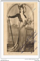 Carte De L'actrice Mlle Véra Peeters ( Ch Garry )  Avec Dédicace Autographe ( Opéra Comique )( Recto Verso ) - Artistes