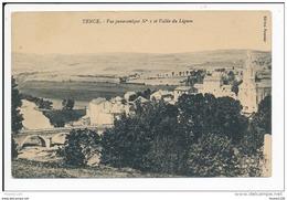 Carte De TENCE  ( Recto Verso ) - France