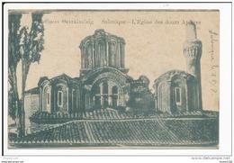 Carte De Salonique L' église Des Douze Apôtres  ( Recto Verso ) - Greece
