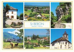 73 SAINT BERON / MULTIVUES AVEC MAIRIE - CHATEAU - EGLISE - Autres Communes