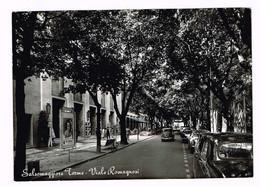 V4745 Salsomaggiore Terme (Parma) - Viale Romagnosi - Auto Cars Voitures / Viaggiata 1959 - Italien