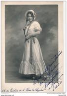 Photo De  VERA PEETERS   ( Avec Autographe Dédicace ) Actrice  De L' Opéra Comique - Dédicacées