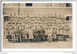 Carte Photo  Militaire  21e Régiment  ( Je Pense à L' Intérieur De La Caserne De Langres à Vérifier )  ( Recto Verso ) - Langres