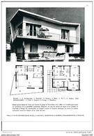 Architecture Ancien Plan D'une Villa à VAUX SUR MER  ( Architecte A BOURGE à SAUMUR , Collaborateur J PENAUD )    ) - Architettura