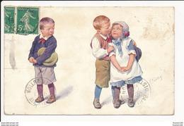 Carte  Dessin  Illustrateur  Karl  Feiertag   ( Recto Verso ) - Feiertag, Karl