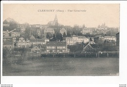 Carte De Clermont   Oise 60 ( Recto Verso ) - Clermont