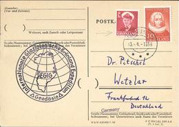Hans Egede - Int. Glaziologische Grönland Expedition Geodäsie 1959 - Greenland