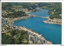 Carte ( Format 15 X 10 Cm )  Port De Pêche La Rivière Du Goyen  En Face De Poulgoazec , Audierne   ( Recto Verso ) - Audierne