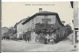 LAGNIEU - Route D'Amberieu Et Avenue De La Gare - France