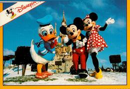Disneyland Paris  Mickey, Minnie Et Donald - Disneyland