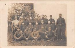 Carte Photo - Militaria - Régiment - 92ème Régiment Territorial 3ème Bataillon - DIJON - 1914 - Regimente