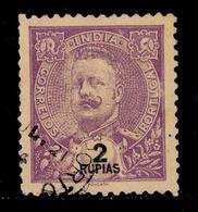 ! ! Portuguese India - 1898 D. Carlos 2 Rp - Af. 165 - Used - India Portoghese