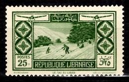 Grand Liban Poste Aérienne YT N° 56 Neuf *. B/TB. A Saisir! - Great Lebanon (1924-1945)