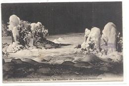 EXCURSION EN FRANCHE-COMTE .1492. LA GLACIERE DE CHAUX-LES-PASSAVANT. AFFR LE 4-7-1914 AU VERSO . 2 SCANES - France