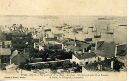 56 Port Louis Rade Lorient Ile Ste Catherine Locmiquelic - Port Louis