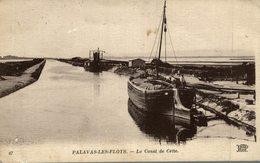 PALAVAS LES FLOTS LE CANAL DE CETTE - Palavas Les Flots