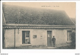 Carte De BETZ  La Poste ( Bureau De Poste ) ( Recto Verso ) - France