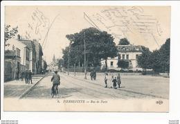 Carte De PIERREFITTE SUR SEINE  Rue De Paris ( Recto Verso ) - Pierrefitte Sur Seine