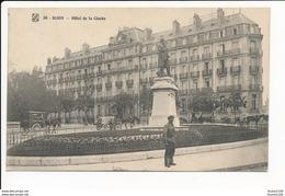 Carte De Dijon Hôtel De La Cloche ( Attelage Ferme De Sully St Apollinaire )( Recto Verso ) - Dijon