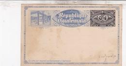 TRES BEL ENTIER POSTAL GUATEMALA / - Guatemala