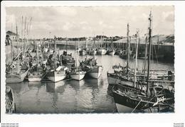 Carte Du Port De Croix De Vie ( Bateau )( Format C.P.A ) ( Recto Verso ) - Saint Gilles Croix De Vie