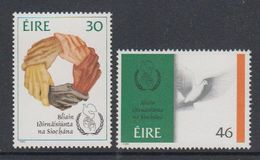 Ireland 1986 International Peace Year 2v ** Mnh (46426G) - Nuevos